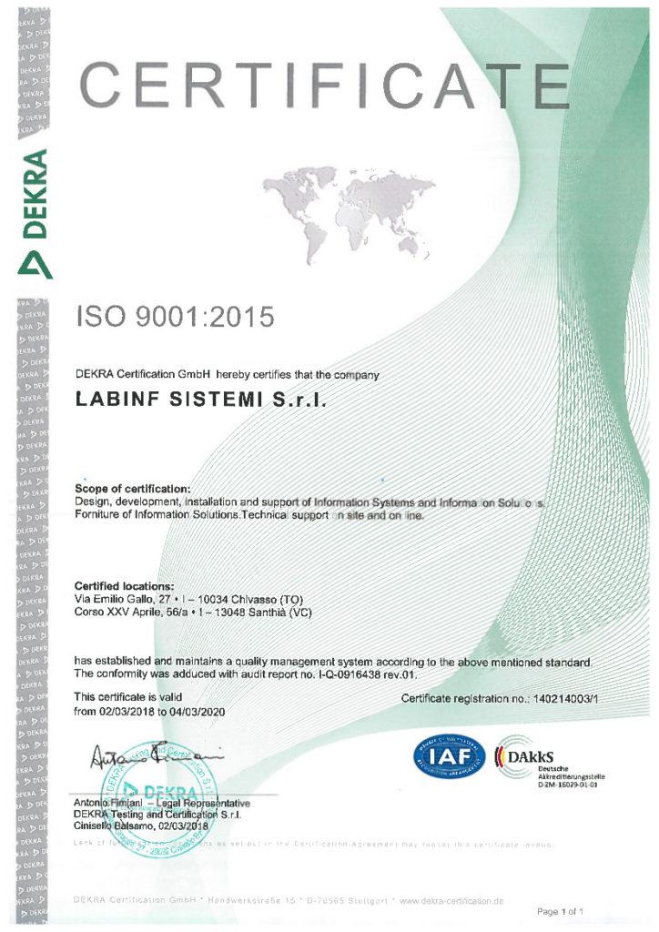 Labinf Sistemi S.r.l.